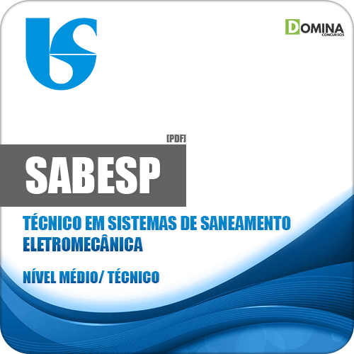 Apostila SABESP 2018 Técnico em Sistemas de Saneamento Eletromecânica