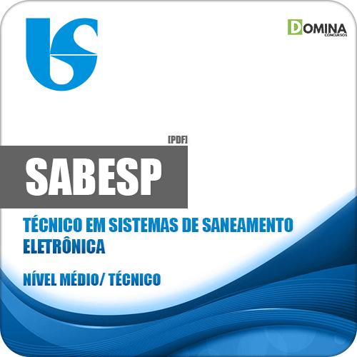 Apostila SABESP 2018 Técnico em Sistemas de Saneamento Eletrônica