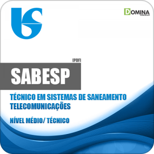Apostila SABESP 2018 Técnico Sistemas de Saneamento Telecomunicações