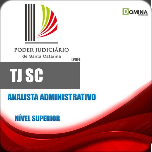 Apostila Concurso TJ SC 2018 Analista Administrativo