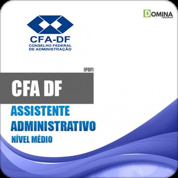 Apostila Concurso CFA DF 2018 Assistente Administrativo