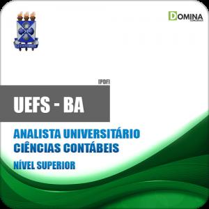 Apostila UEFS BA 2018 Analista Universitário Ciências Contábeis