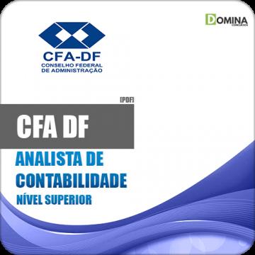 Apostila Concurso CFA DF 2018 Analista de Contabilidade