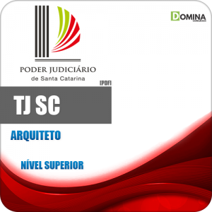 Apostila Concurso TJ SC 2018 Arquiteto