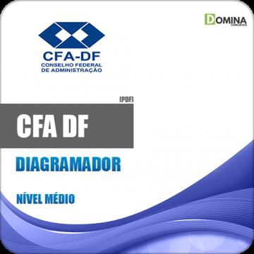 Apostila Concurso CFA DF 2018 Diagramador