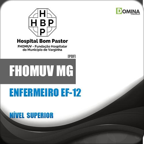 Apostila FHOMUV MG 2018 Enfermeiro