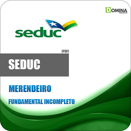 Apostila Concurso SEDUC AM 2018 Merendeiro