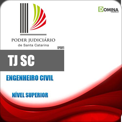 Apostila Concurso TJ SC 2018 Engenheiro Civil
