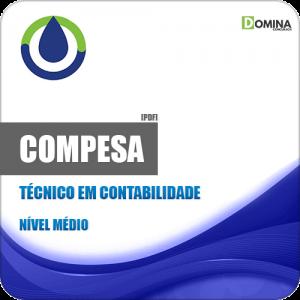 Apostila COMPESA PE 2018 Técnico em Contabilidade