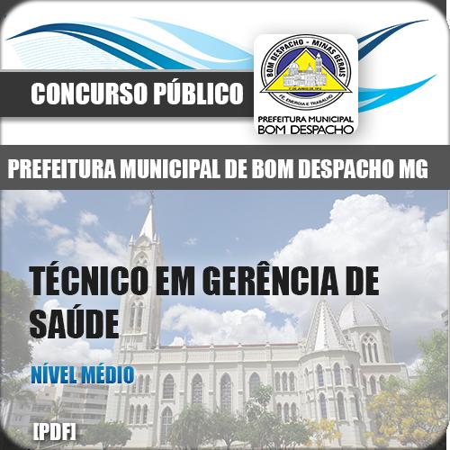 Apostila Bom Despacho MG 2018 TEC Gerência de Saúde