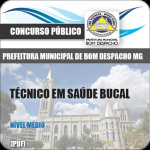 Apostila Bom Despacho MG 2018 Técnico Saúde Bucal