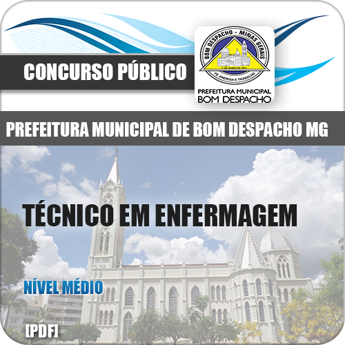 Apostila Bom Despacho MG 2018 Técnico Enfermagem