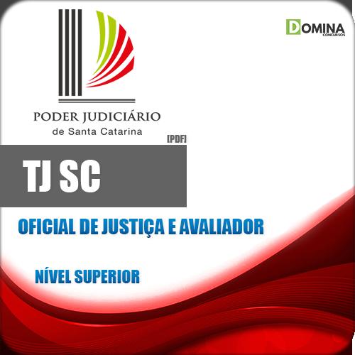 Apostila Concurso TJ SC 2018 Oficial de Justiça e Avaliador