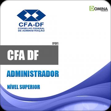 Apostila Concurso CFA DF 2018 Administrador