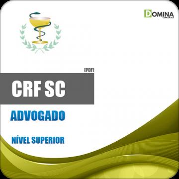 Apostila Concurso CRF SC 2018 Advogado