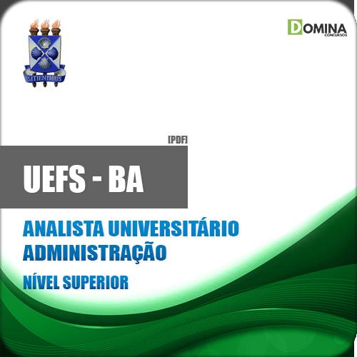 Apostila UEFS BA 2018 Analista Universitário Administração