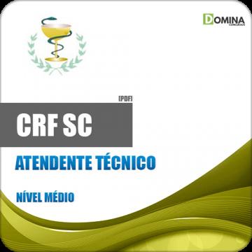 Apostila Concurso CRF SC 2018 Atendente Técnico