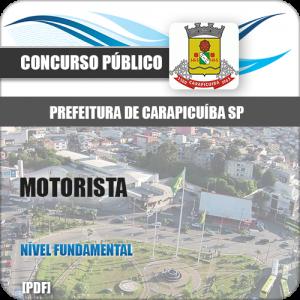 Apostila Pref Carapicuíba SP 2018 Motorista