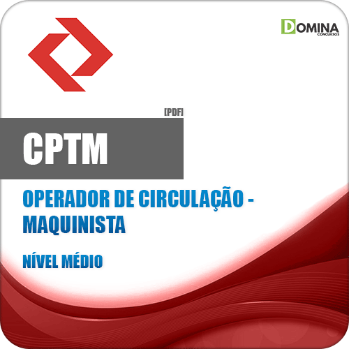 Apostila CPTM 2018 Operador de Circulação Maquinista