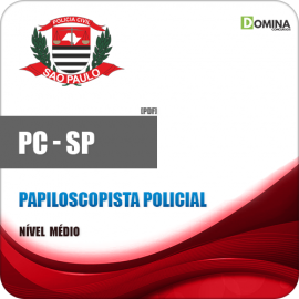 Apostila PC SP 2018 Papiloscopista Policial
