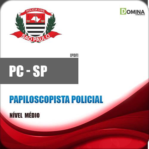 Apostila PC SP 2018 Papiloscopista Policial