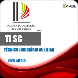 Apostila Concurso TJ SC 2018 Técnico Judiciário Auxiliar