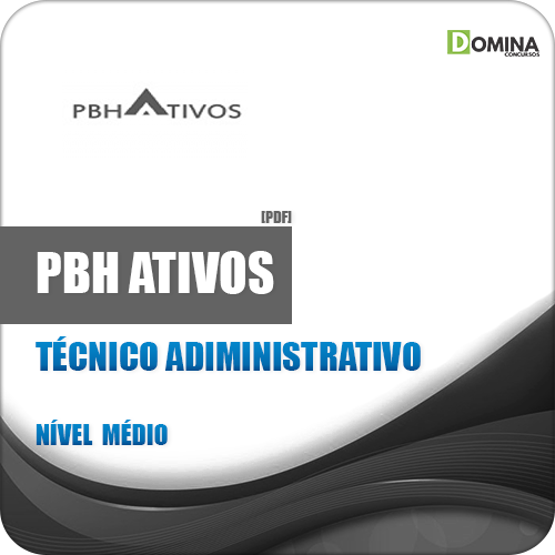 Apostila PBH Ativos 2018 Técnico Administrativo