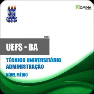 Apostila UEFS BA 2018 Técnico Universitário Administração