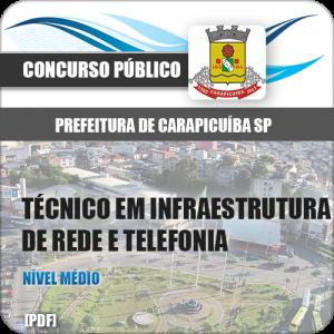 Apostila Carapicuíba SP 2018 TEC de Rede e Telefonia