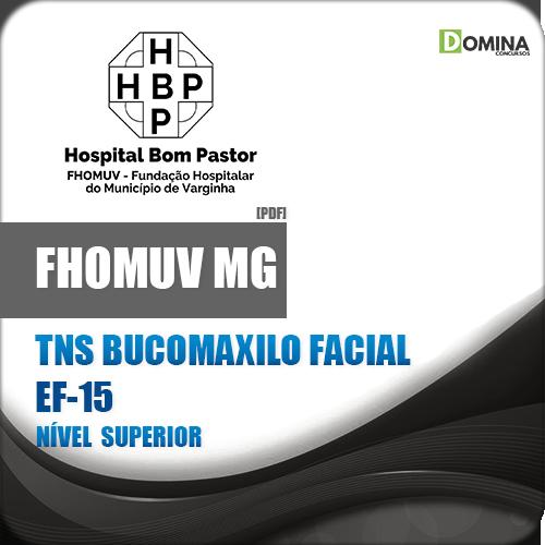 Apostila FHOMUV MG 2018 TNS Bucomaxilo Facial