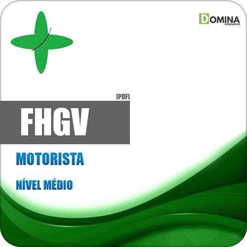Apostila FHGV 2018 Motorista