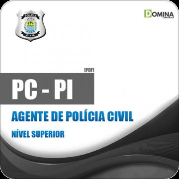 Apostila Polícia Civil do Piauí PC PI 2018 Agente de Polícia Civil