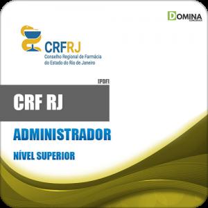 Apostila Concurso CRF RJ 2018 Administrador