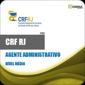 Apostila CRF RJ 2018 Agente Administrativo