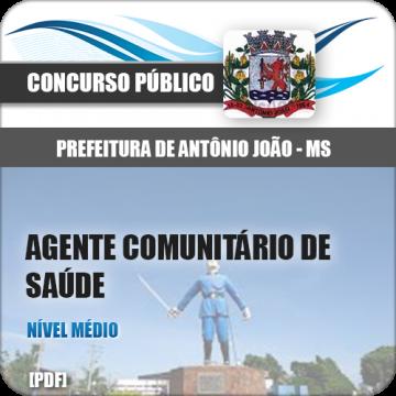 Apostila Antônio João MS 2018 Agt Comunitário Saúde