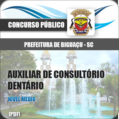 Apostila Biguaçu SC 2018 Aux Consultório Dentário
