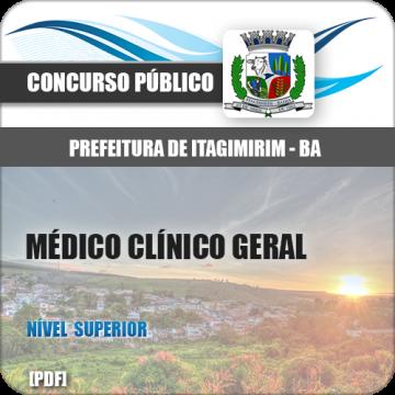 Apostila Itagimirim BA 2018 Médico Clínico Geral