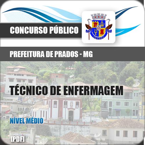 Apostila Prados MG 2018 Técnico Enfermagem
