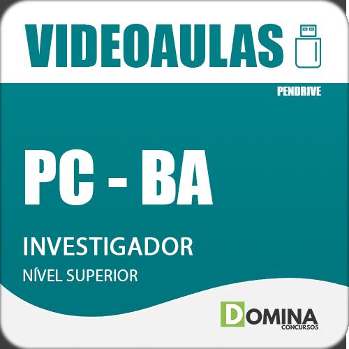 Curso Videoaulas PC BA 2018 Investigador