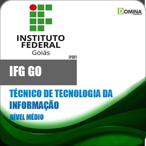 Apostila IFG GO 2018 Técnico Tecnologia Informação