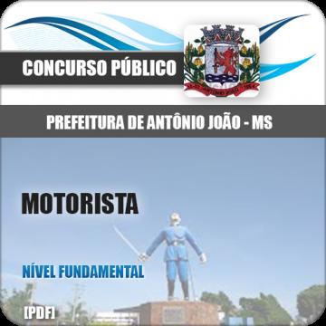 Apostila Antônio João MS 2018 Motorista