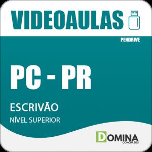 Curso Videoaulas PC PR 2018 Escrivão