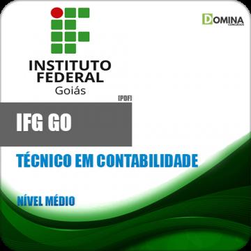 Apostila IFG GO 2018 Técnico em Contabilidade
