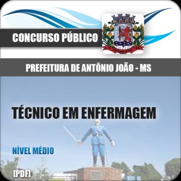 Apostila Antônio João MS 2018 Técnico Enfermagem