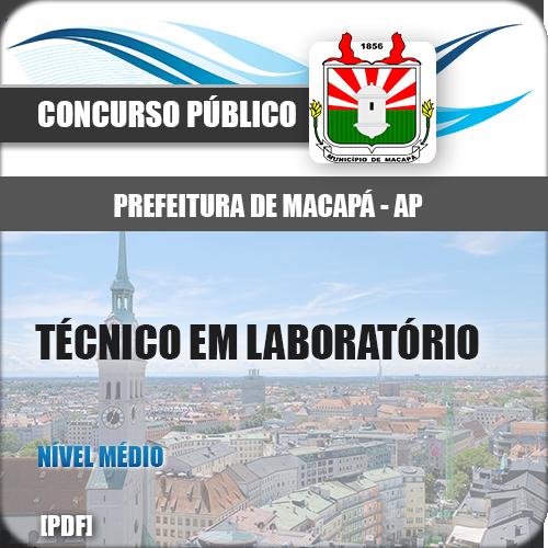 Apostila Macapá AP 2018 Técnico em Laboratório