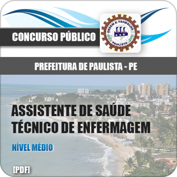 Apostila Pref Paulista PE 2018 Técnico de Enfermagem