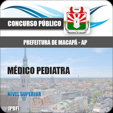 Apostila Macapá AP 2018 Médico Pediatra