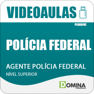 Curso Videoaulas Polícia Federal PF 2018 Agente Polícia Federal