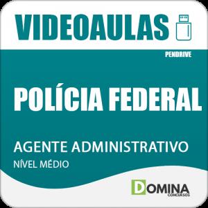 Curso Videoaulas Polícia Federal PF 2018 Agente Administrativo