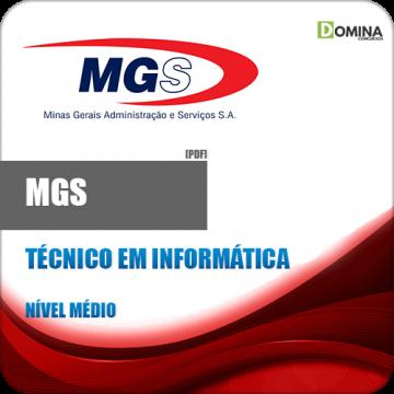 Apostila MGS MG 2018 Técnico em Informática